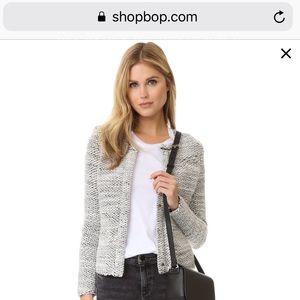 IRO Carene Blazer/Sweater Jacket Sz 36